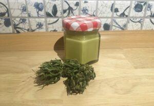 Domácí mast s vysokým obsahem léčivé látky