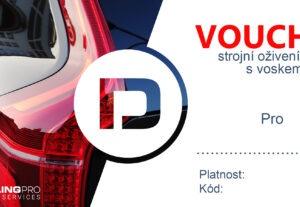 Voucher/Poukaz na Vaši službu