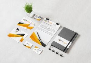 Tvorba firemních tiskovin – vizitka, katalog, leták