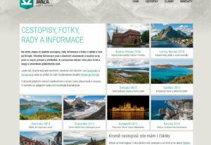 Zveřejnění PR článku na webu o cestování po Evropě