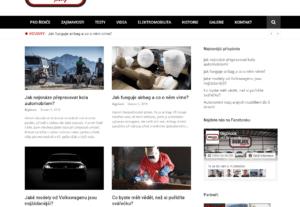 Zveřejnění PR článku na auto/moto magazínu