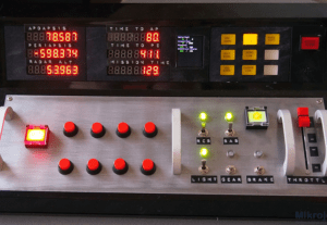 1691Softvér pre tlačidlový panel k PC simulátorom cez Arduino