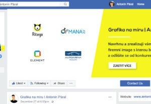 Profesionální grafika na Facebook (profilové, úvodní foto)