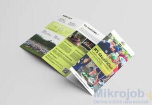 Moderní plakát/brožura