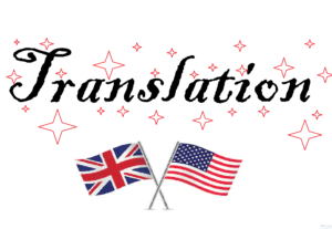Angličtina – překlad, gramatické úpravy atp.