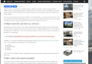 7271Publikace PR článku v magazínu o stavbě a bydlení